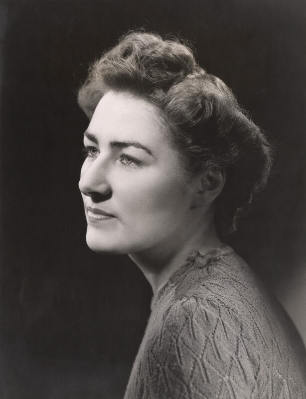 Madelaine Hope Aylward (née Woolley), by Bassano Ltd, 1946 - NPG x85276 - © National Portrait Gallery, London