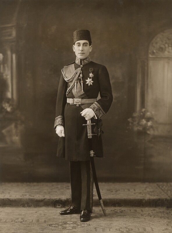 Mirza Gholam Harsein Khan Sadis Farid-es-Saltanah, by Bassano Ltd, 1923 - NPG x85289 - © National Portrait Gallery, London