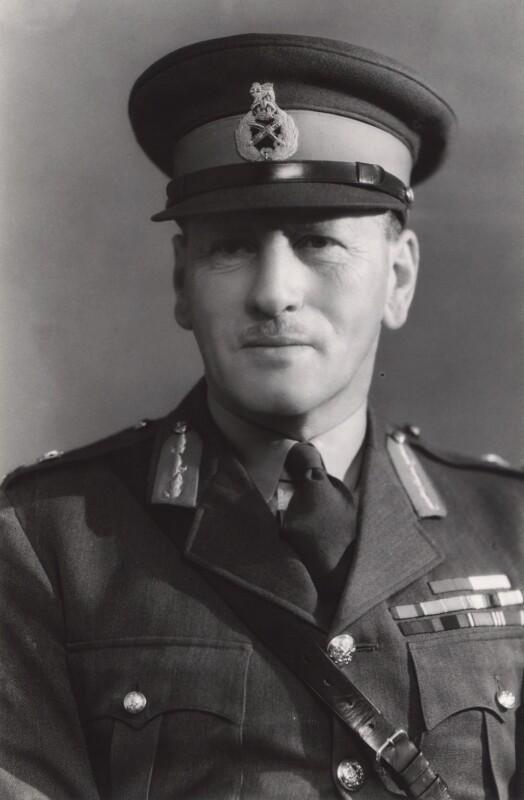 Sir Claude Auchinleck, by Bassano Ltd, 1940 - NPG x85319 - © National Portrait Gallery, London