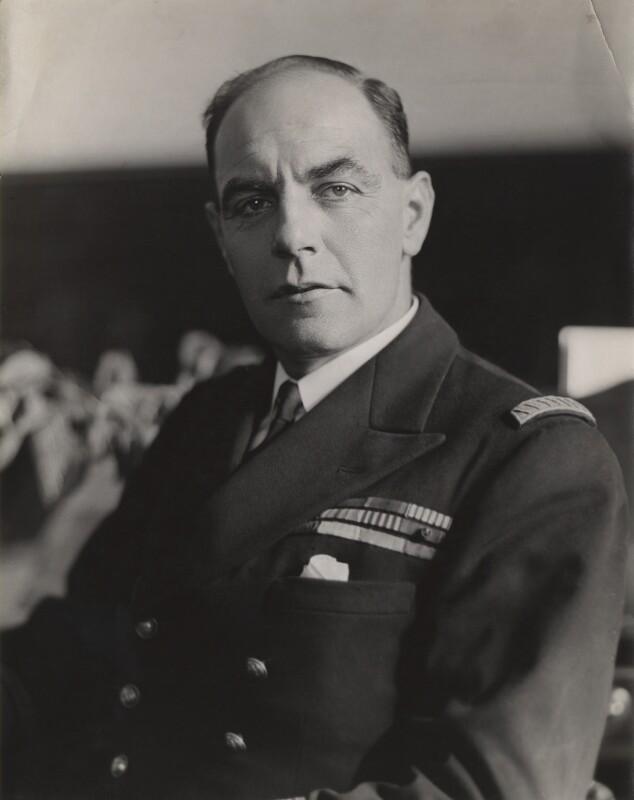 Philippe Marie Joseph Raymond Auboyneau, by Bassano Ltd, 30 April 1942 - NPG x85321 - © National Portrait Gallery, London