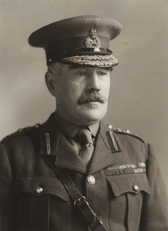 Sir William Robert Robertson, 1st Bt, by Bassano Ltd, 1917 - NPG x85385 - © National Portrait Gallery, London