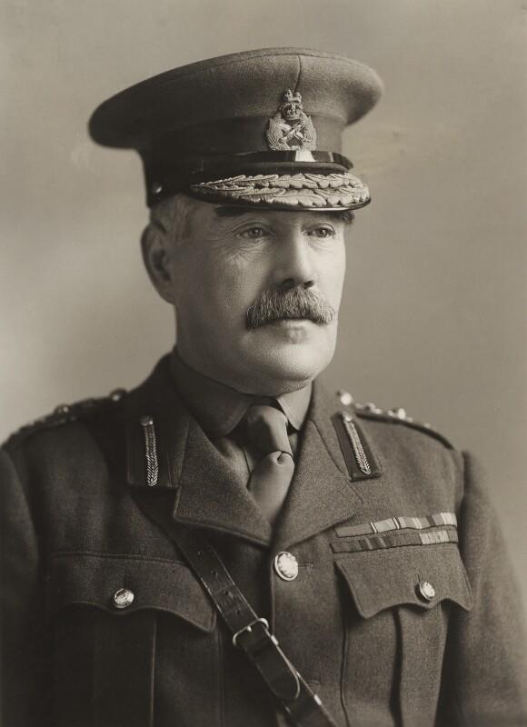 Sir William Robert Robertson, 1st Bt, by Bassano Ltd, 1917 - NPG x85385 - © National Portrait Gallery, London