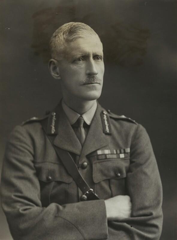 Sir (Edward) Peter Strickland, by Bassano Ltd, 17 January 1917 - NPG x85404 - © National Portrait Gallery, London