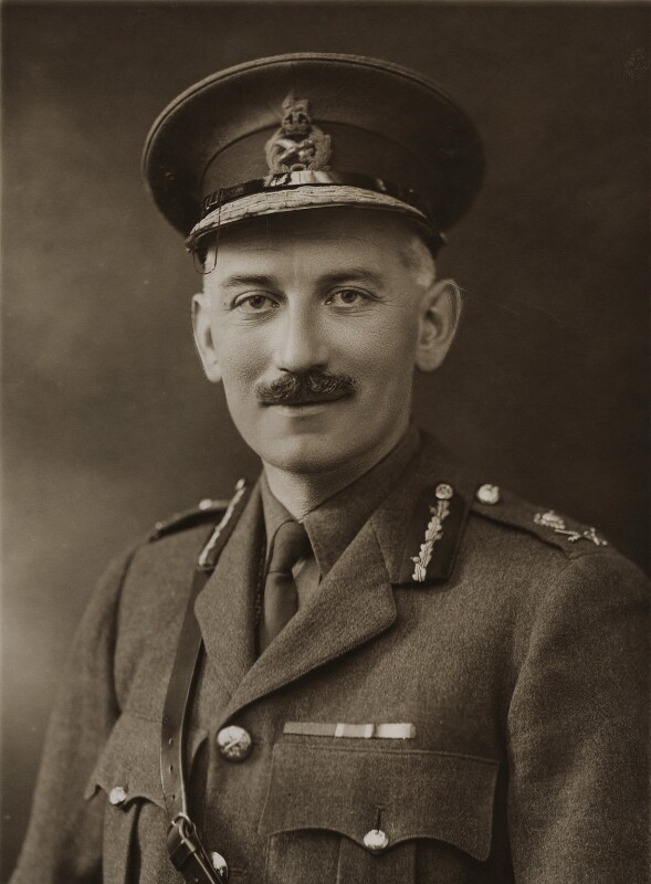 Sir Louis Ridley Vaughan, by Bassano Ltd, 8 May 1919 - NPG x85423 - © National Portrait Gallery, London