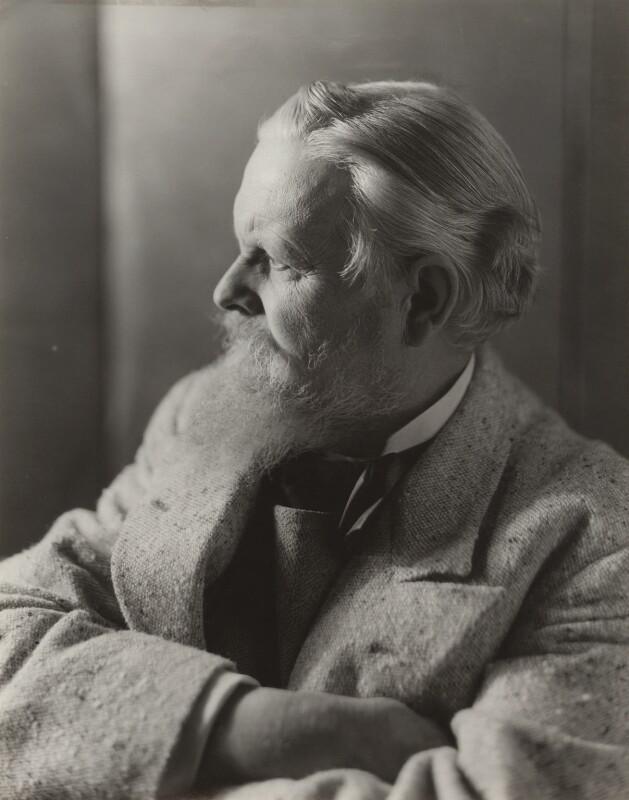Sir Frank Brangwyn, by Bassano Ltd, 5 October 1936 - NPG x85439 - © National Portrait Gallery, London