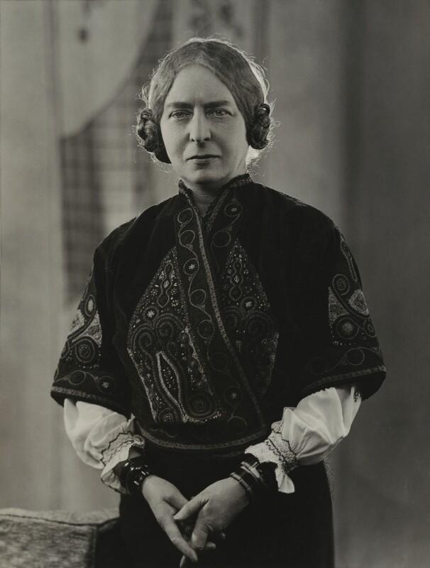 Laura Knight, by Bassano Ltd, 20 February 1936 - NPG x85440 - © National Portrait Gallery, London