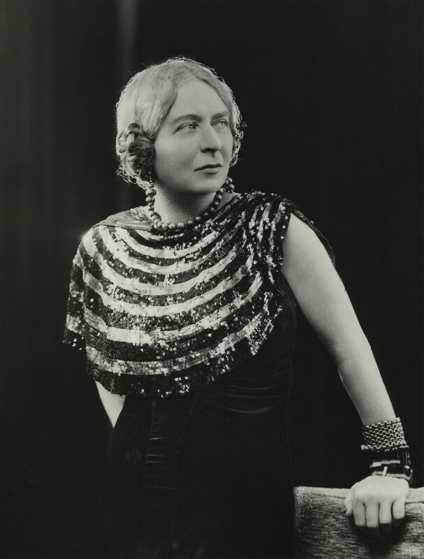 Laura Knight, by Bassano Ltd, 20 February 1936 - NPG x85442 - © National Portrait Gallery, London
