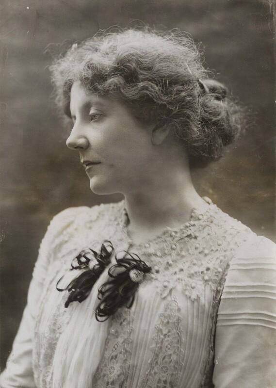 Lena Ashwell (née Lena Margaret Pocock, later Lady Simson) as Mrs Dane in 'Mrs Dane's Defence', by Alexander Bassano, 1900 - NPG x85443 - © National Portrait Gallery, London