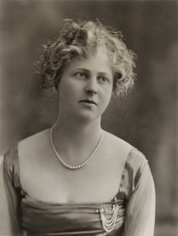 Maud Jessel (née Goldsmid), Lady Jessel, by Bassano Ltd,  - NPG x85449 - © National Portrait Gallery, London