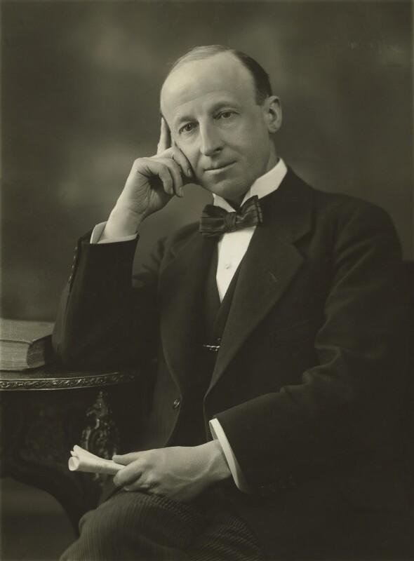 Sir George William Henry Jones, by Bassano Ltd, 1922 - NPG x85474 - © National Portrait Gallery, London