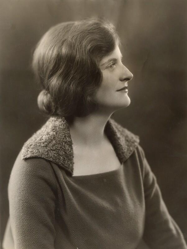 Betty Joel (née Mary Stewart Lockhart), by Bassano Ltd, 1930s - NPG x85483 - © National Portrait Gallery, London