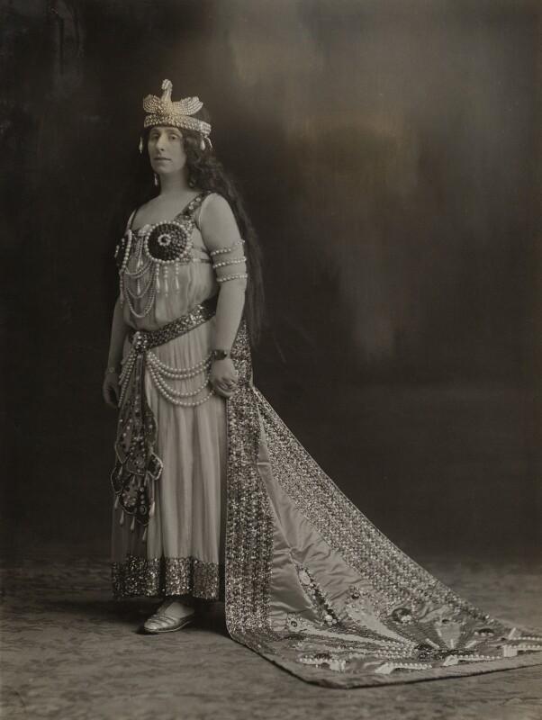 Madam Zomah, by Bassano Ltd, 1917 - NPG x85517 - © National Portrait Gallery, London
