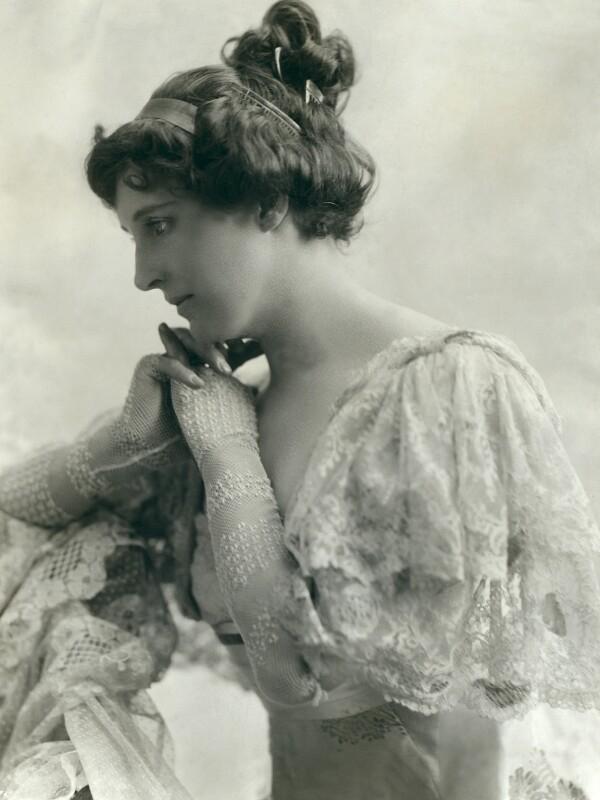 Evelyn Millard, by Bassano Ltd, circa 1912 - NPG x85528 - © National Portrait Gallery, London