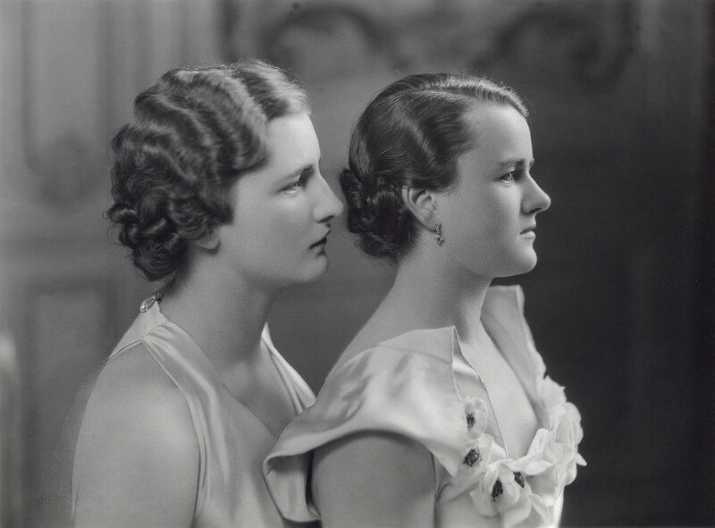 Helen Walford; Maria Cristina Norman (née Walford), by Bassano Ltd, 1935 - NPG x85549 - © National Portrait Gallery, London
