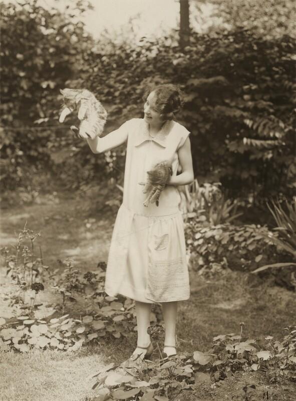 Jill Esmond, by Bassano Ltd, 1925 - NPG x85584 - © National Portrait Gallery, London
