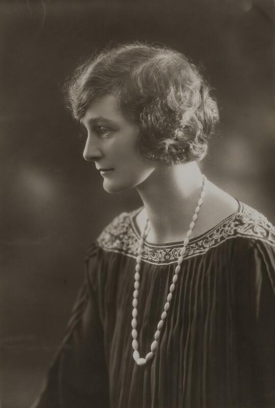 Maude Aplin, by Bassano Ltd, 1924? - NPG x85600 - © National Portrait Gallery, London