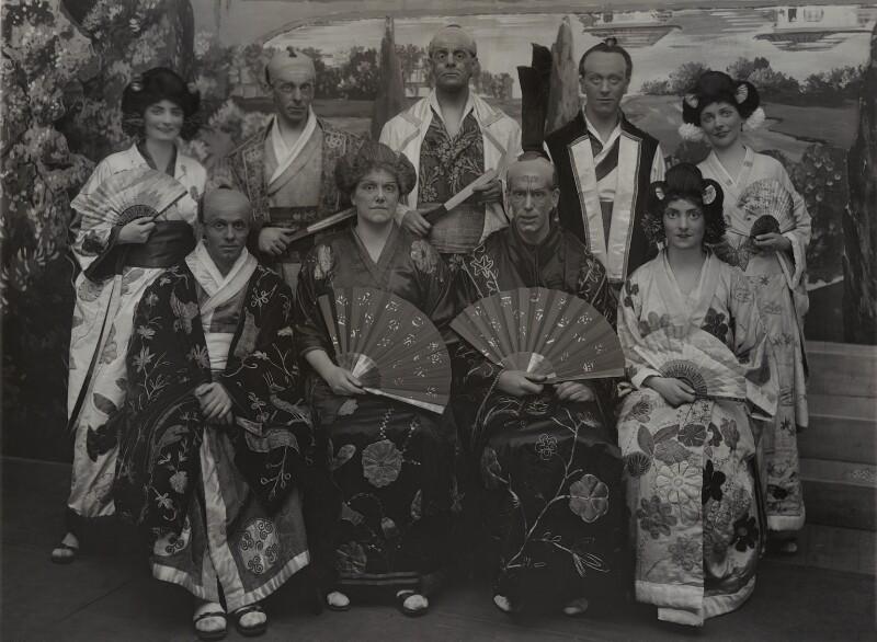The Alliance Assurance Dramatic Society performing 'Mikado', by Bassano Ltd, 1924 - NPG x85615 - © National Portrait Gallery, London