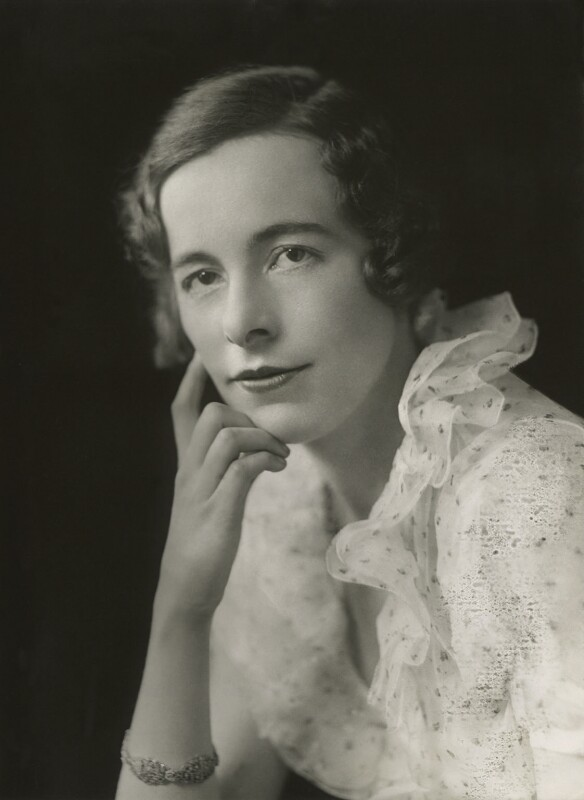 (Mary) Rosalie Glynn (née Grylls), Lady Mander, by Bassano Ltd, 1930 - NPG x85617 - © National Portrait Gallery, London