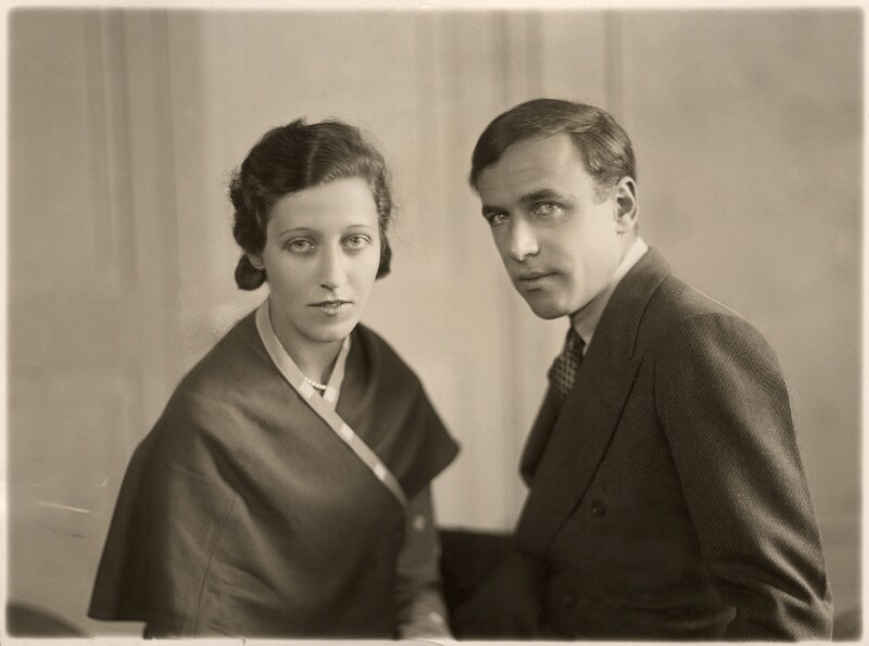 Amy Johnson; James Allan Mollison, by Bassano Ltd, 10 May 1932 - NPG x85650 - © National Portrait Gallery, London