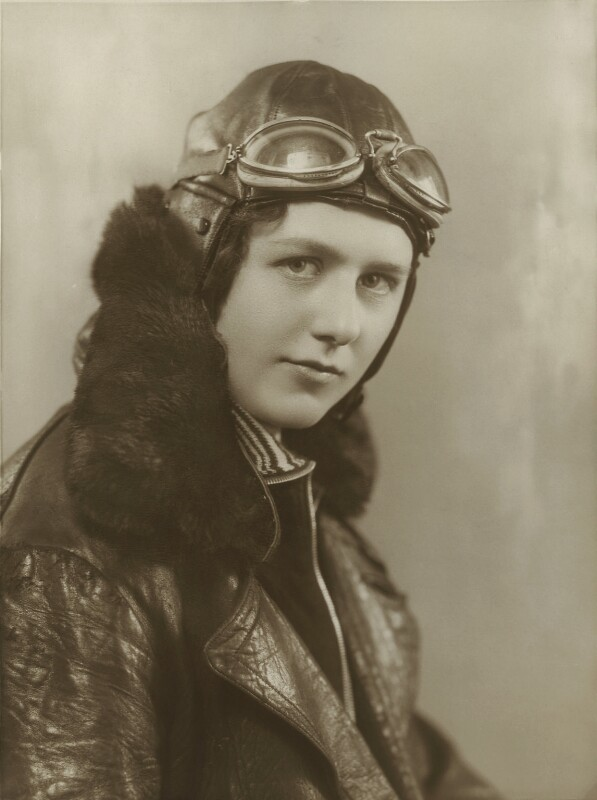 Elsie Joy Davison (née Muntz), by Bassano Ltd, 1933 - NPG x85661 - © National Portrait Gallery, London