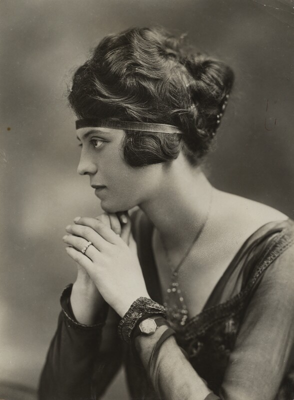 Ada Howard Armstrong (née Randle), by Bassano Ltd, 1920 - NPG x85709 - © National Portrait Gallery, London