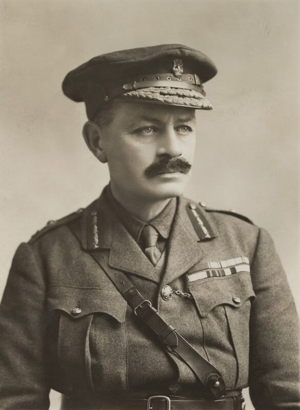 Julian Byng, 1st Viscount Byng of Vimy, by Bassano Ltd, 18 February 1915 - NPG x85716 - © National Portrait Gallery, London