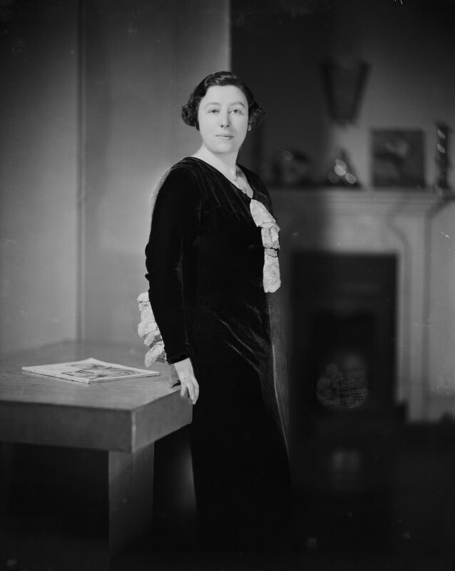 Wilhelmina Stitch (Ruth Collie), by Howard Coster, 1932 - NPG x93853 - © National Portrait Gallery, London