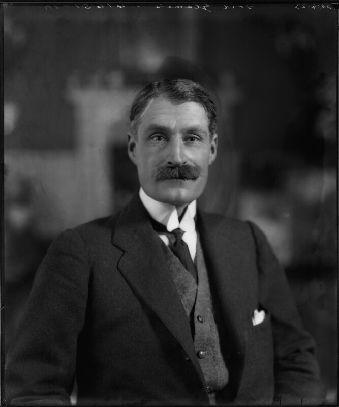 Patrick Bowes-Lyon, 15th Earl of Strathmore and Kinghorne, by Bassano Ltd, 20 April 1923 - NPG x95774 - © National Portrait Gallery, London