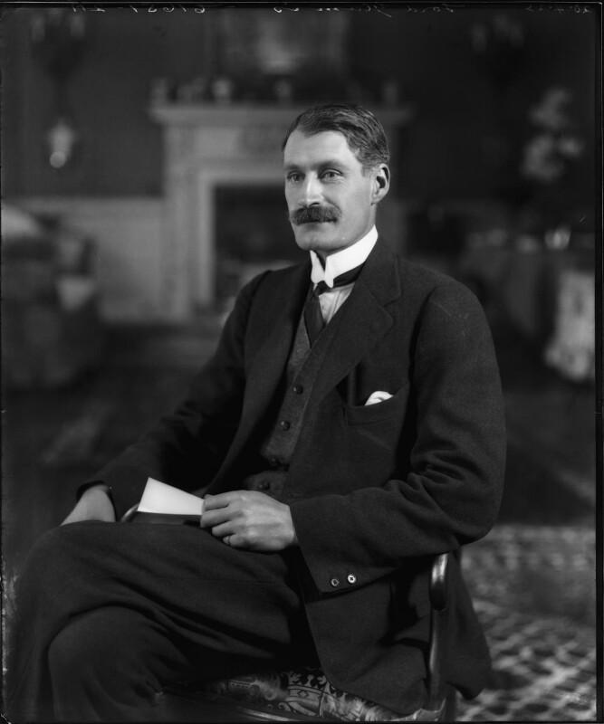 Patrick Bowes-Lyon, 15th Earl of Strathmore and Kinghorne, by Bassano Ltd, 20 April 1923 - NPG x95775 - © National Portrait Gallery, London