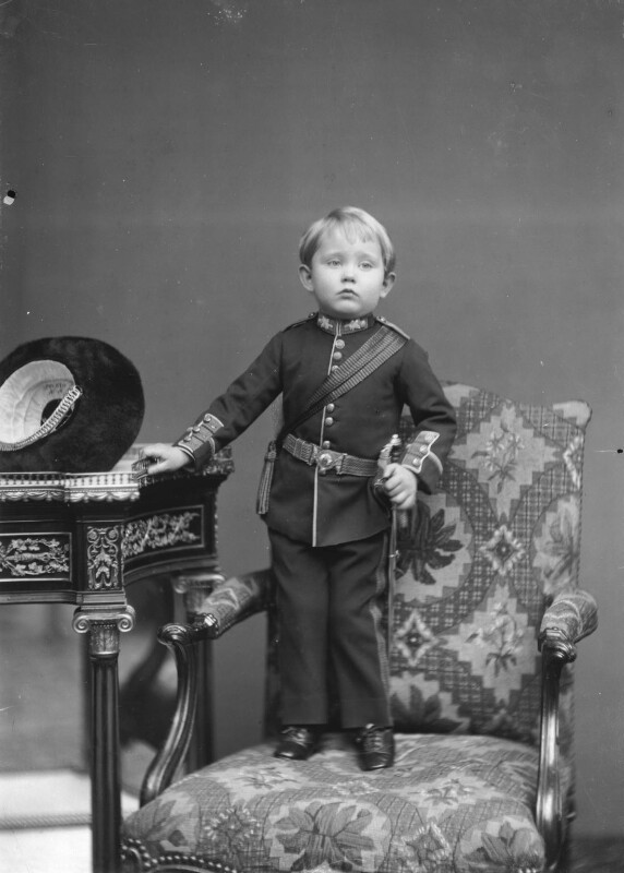 Prince Arthur of Connaught, by Alexander Bassano, 1885 - NPG x95958 - © National Portrait Gallery, London