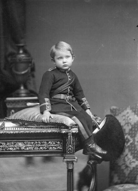 Prince Arthur of Connaught, by Alexander Bassano, 1885 - NPG x95959 - © National Portrait Gallery, London