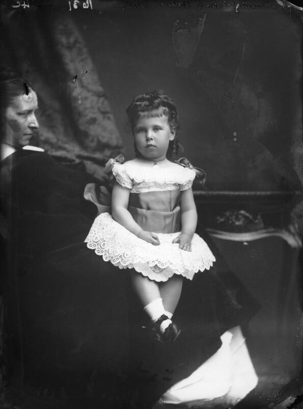 Victoria Melita, Grand Duchess of Russia, by Alexander Bassano, 1879 - NPG x95984 - © National Portrait Gallery, London