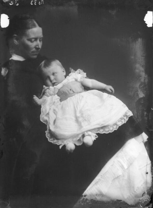Princess Alexandra of Hohenlohe-Langenburg, by Alexander Bassano, 1879 - NPG x95988 - © National Portrait Gallery, London