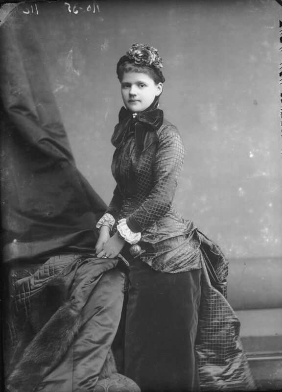Princess Helen, Duchess of Albany, by Alexander Bassano, late 1870s - NPG x95998 - © National Portrait Gallery, London