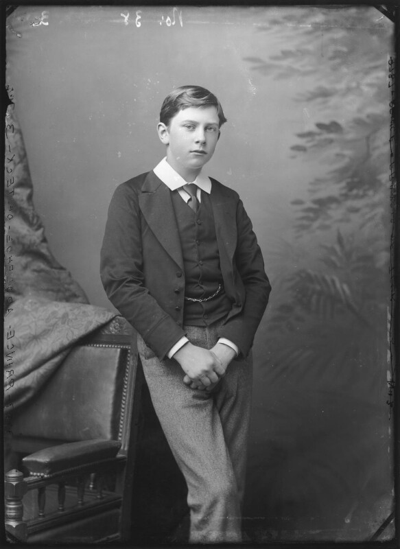 Prince Adolphus, Duke of Teck and Marquess of Cambridge, by Alexander Bassano, circa 1884 - NPG x96010 - © National Portrait Gallery, London