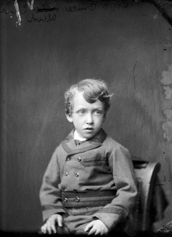 Prince Albert of Schleswig-Holstein, by Alexander Bassano, circa 1875 - NPG x96021 - © National Portrait Gallery, London