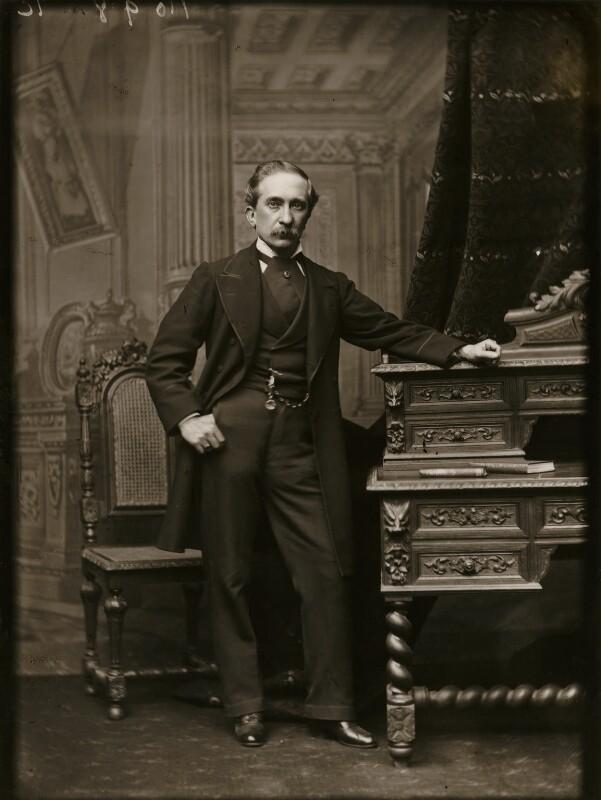 Alexander Bassano, by Alexander Bassano, 1880s - NPG x96049 - © National Portrait Gallery, London