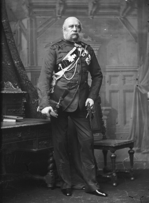 Prince George William Frederick Charles, 2nd Duke of Cambridge, by Alexander Bassano, circa 1889 - NPG x96061 - © National Portrait Gallery, London