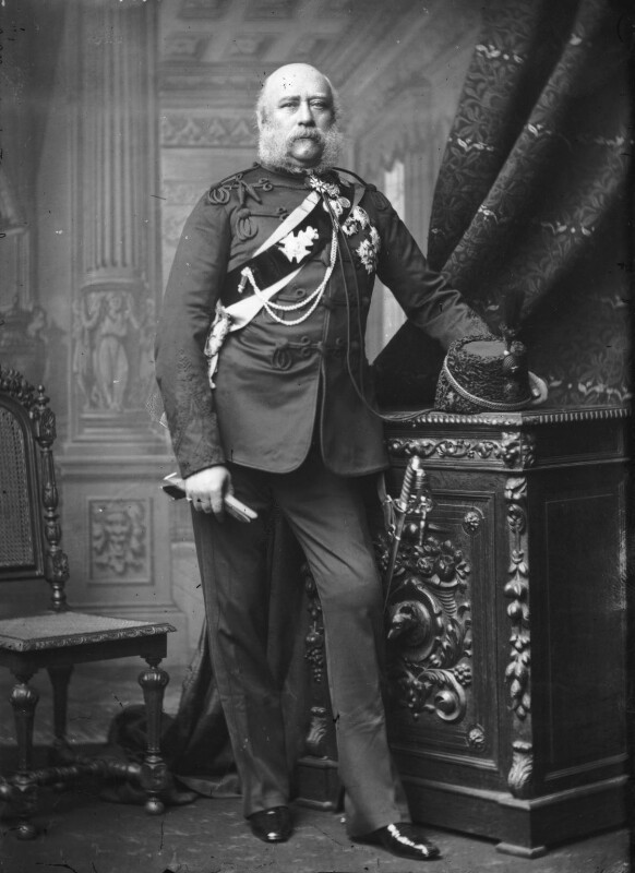 Prince George William Frederick Charles, 2nd Duke of Cambridge, by Alexander Bassano, circa 1889 - NPG x96063 - © National Portrait Gallery, London