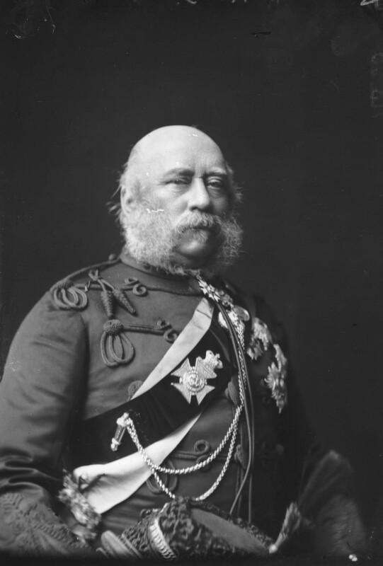 Prince George William Frederick Charles, 2nd Duke of Cambridge, by Alexander Bassano, circa 1889 - NPG x96065 - © National Portrait Gallery, London