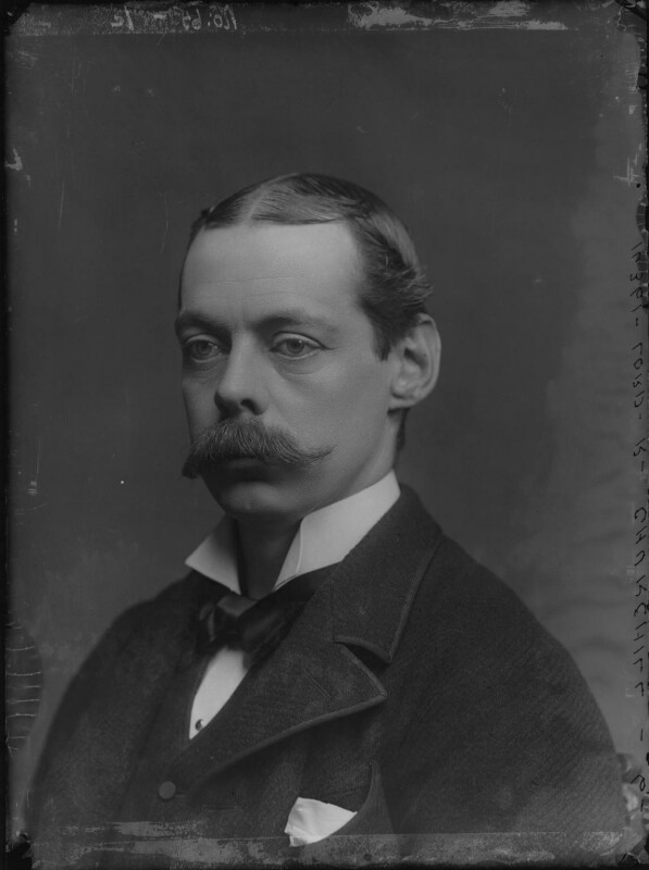 Lord Randolph Churchill, by Alexander Bassano, 1883 - NPG x96127 - © National Portrait Gallery, London