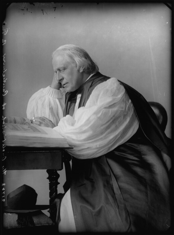 NPG x96176; Edward White Benson - Portrait - National Portrait Gallery