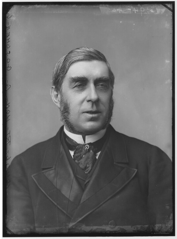 George Joachim Goschen, 1st Viscount Goschen, by Alexander Bassano, circa 1883 - NPG x96251 - © National Portrait Gallery, London