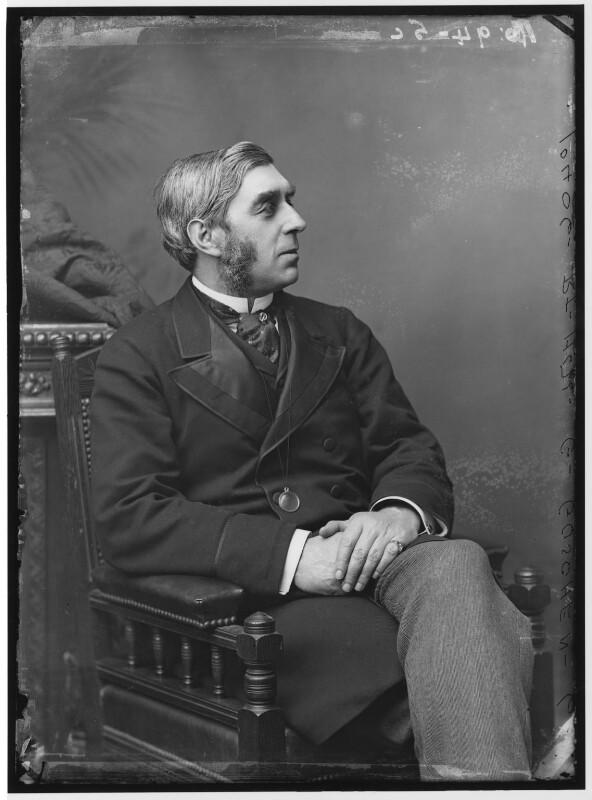 George Joachim Goschen, 1st Viscount Goschen, by Alexander Bassano, circa 1883 - NPG x96252 - © National Portrait Gallery, London