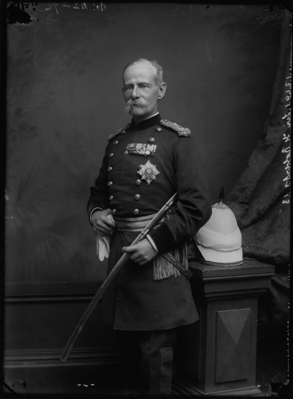 Frederick Sleigh Roberts, 1st Earl Roberts, by Alexander Bassano, 1891-1892 - NPG x96273 - © National Portrait Gallery, London