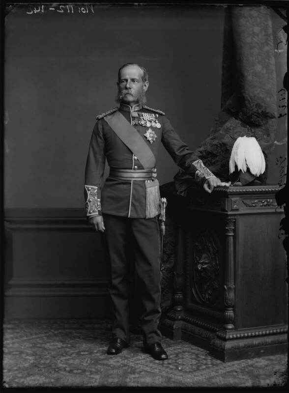 Frederick Sleigh Roberts, 1st Earl Roberts, by Alexander Bassano, 1891-1892 - NPG x96280 - © National Portrait Gallery, London