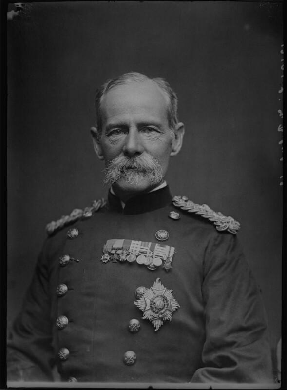 Frederick Sleigh Roberts, 1st Earl Roberts, by Alexander Bassano, 1891-1892 - NPG x96285 - © National Portrait Gallery, London