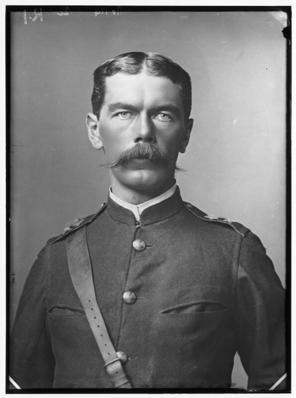 Herbert Kitchener, 1st Earl Kitchener, by Alexander Bassano, 1885 - NPG x96287 - © National Portrait Gallery, London