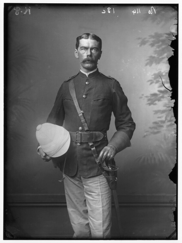 Herbert Kitchener, 1st Earl Kitchener, by Alexander Bassano, 1885 - NPG x96296 - © National Portrait Gallery, London