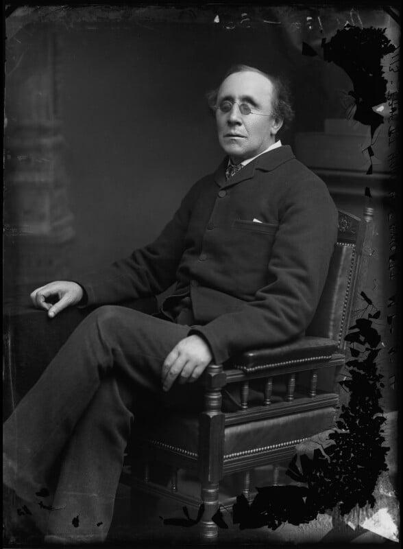Henry Fawcett, by Alexander Bassano, 1883 - NPG x96395 - © National Portrait Gallery, London